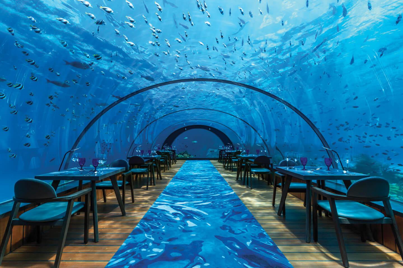 Cenare in fondo al mar!
