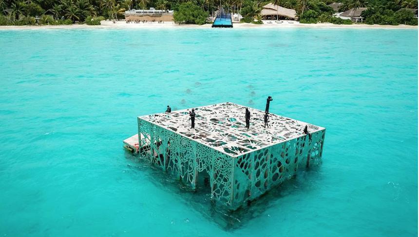 Museo semisommerso Maldive: l'idea per salvare la barriera corallina